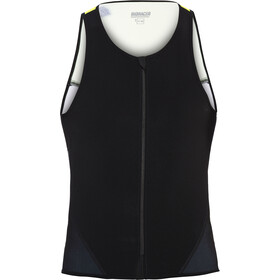 Bioracer Tri Top Zipper, black-fluoyellow